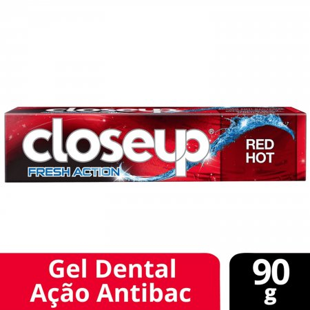 Creme Dental Close Up Ação Profunda Red Hot