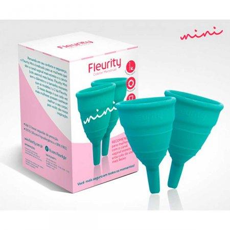 Coletor Menstrual Fleurity Mini com 2 Unidades | Foto 1