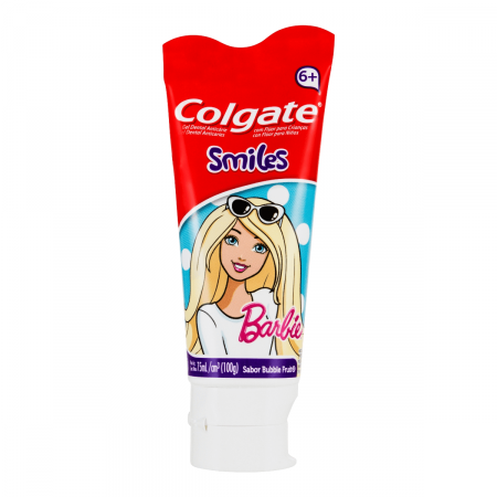 Creme Dental Colgate Smiles Barbie