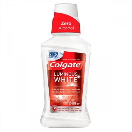 Enxaguante Bucal Colgate Luminous White
