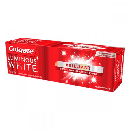 Creme Dental Colgate Luminous White Brilliant White