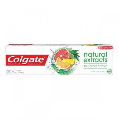 Creme Dental Colgate Natural Extracts Defesa Reforçada