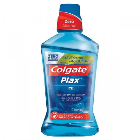 Enxaguante Bucal Colgate Plax Ice