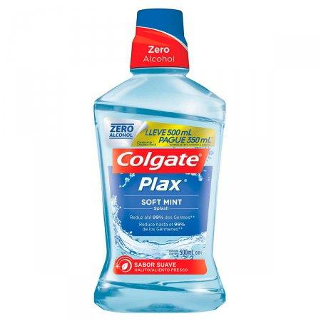 Enxaguante Bucal Colgate Plax Soft Mint