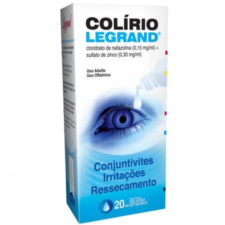 Colírio Legrand com 20ml