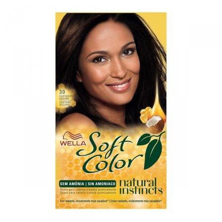 Coloração Wella Soft Color Nº30 Castanho Escuro