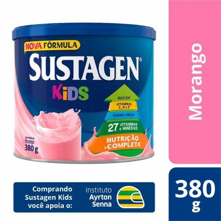 Complemento Alimentar Infantil Sustagen Kids Sabor Morango