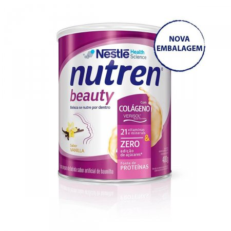 Complemento Alimentar Nutren Beauty Sabor Baunilha