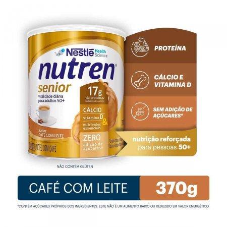 Complemento Alimentar Nutren Senior Sabor Café com Leite com 370g