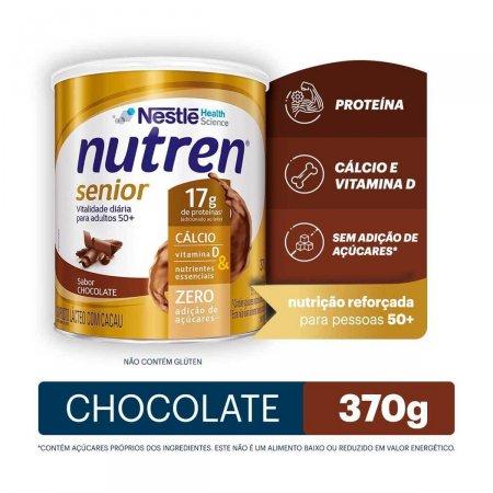 Complemento Alimentar Nutren Senior 50+ Sabor Chocolate com 370g