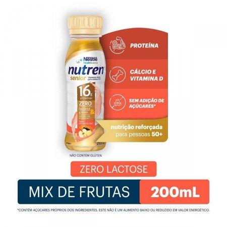 Complemento Alimentar Nestlé Nutren Senior Mix de Frutas com 200ml