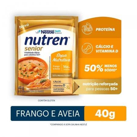 Complemento Alimentar Nutren Senior Sopa Nutritiva Frango e Aveia 40g  