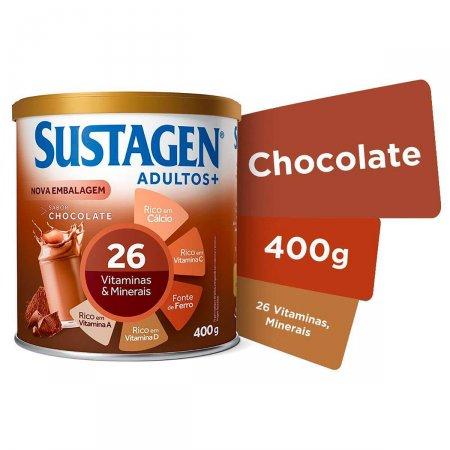 Complemento Alimentar Sustagen Adultos+ Sabor Chocolate com 400g