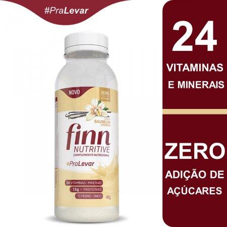 Complemento Nutricional Finn Nutritive Sabor Baunilha Cremosa