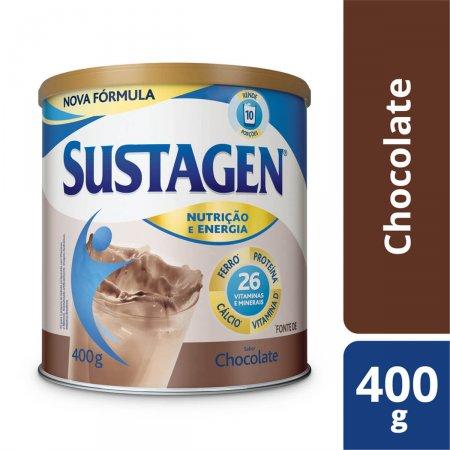 Complemento Alimentar Sustagen Nutrição e Energia Chocolate