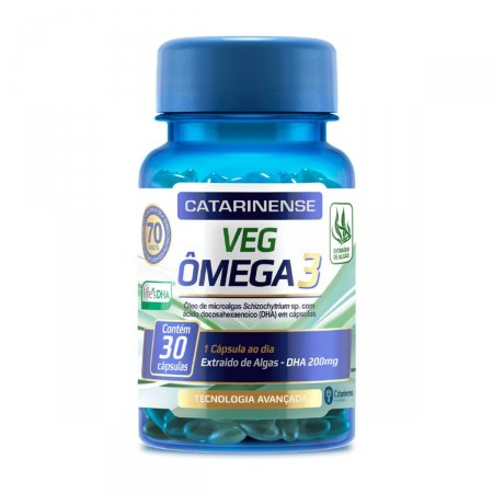 Complexo Vitamínico Veg ômega 3 Catarinense