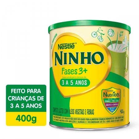 Composto Lácteo Ninho Fases 3+ com 400g