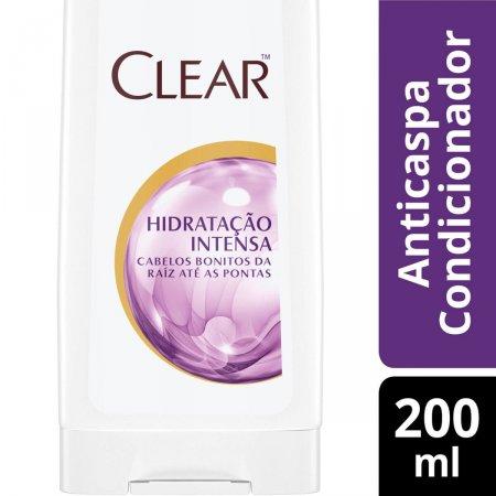 Condicionador Anticaspa Clear Hidratação Intensa com 200ml
