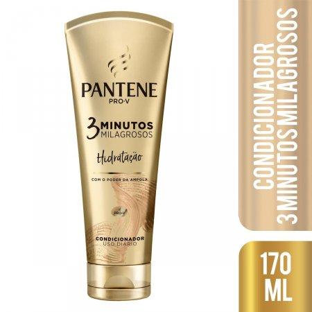 Condicionador Pantene 3 Minutos Milagrosos Hidratação com 170ml