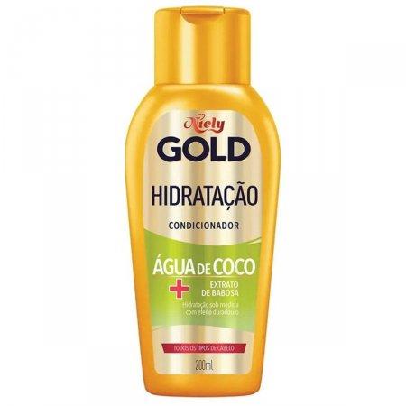 Condicionador Niely Gold Hidratação Água de Coco