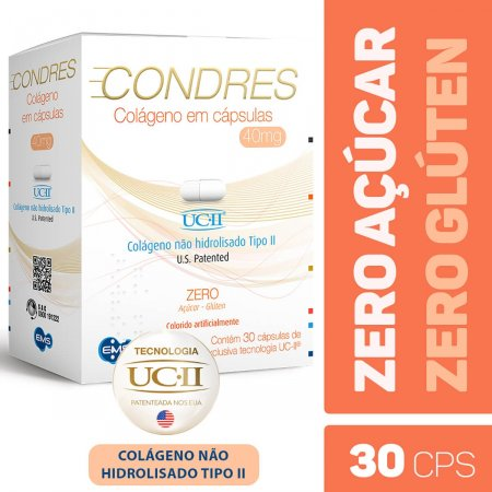 Condres Colágeno com 30 Cápsulas |