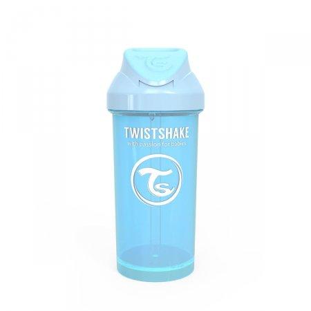 Copo Twistshake Straw Azul 6+ Meses
