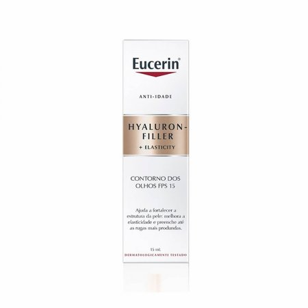 Creme Antirrugas Contorno dos Olhos Eucerin Hyaluron Filler Elasticity