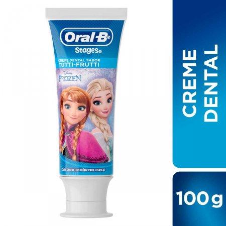 Creme Dental Infantil Oral-B Stages Frozen com 100g | Foto 2