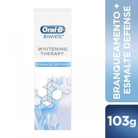 Creme Dental Oral-B 3D White Whitening Therapy Esmalte Defense