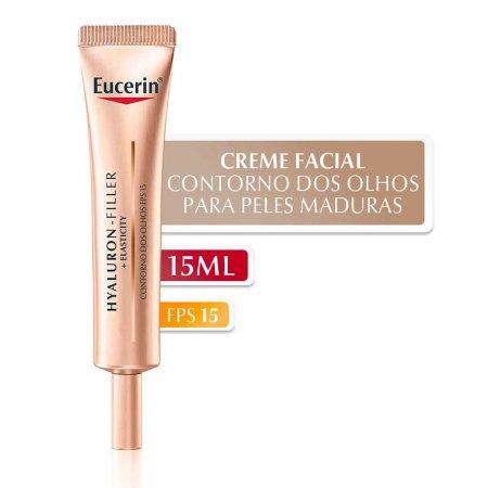 Creme Facial Anti-Idade Eucerin Hyaluron-Filler + Elasticity Contorno dos Olhos com 15ml