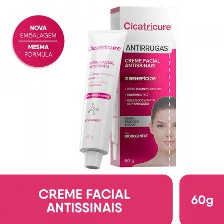 Creme Facial Antissinais Cicatricure com 60g