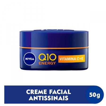 Creme Facial Noite Nivea Q10 Energy 50g  