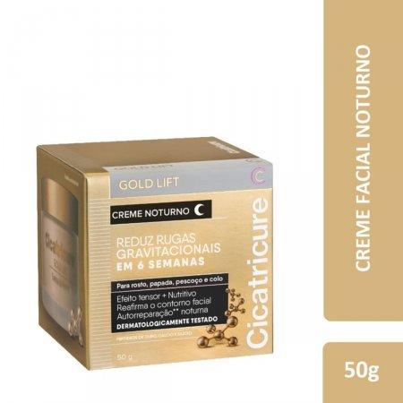 Cicatricure Creme Facial Noturno Gold Lift com 50g