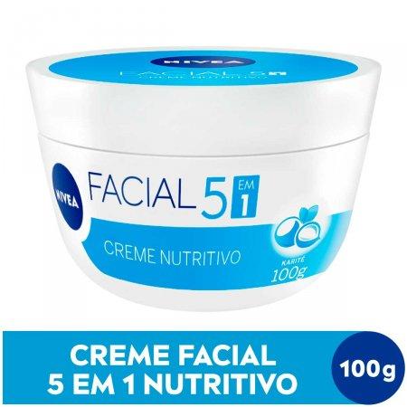 Creme Facial Nivea Nutritivo 100g | Drogaraia.com Foto 2