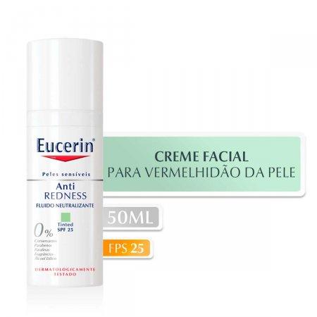 Creme Hidratante Facial Eucerin Anti Redness FPS25 com 50ml