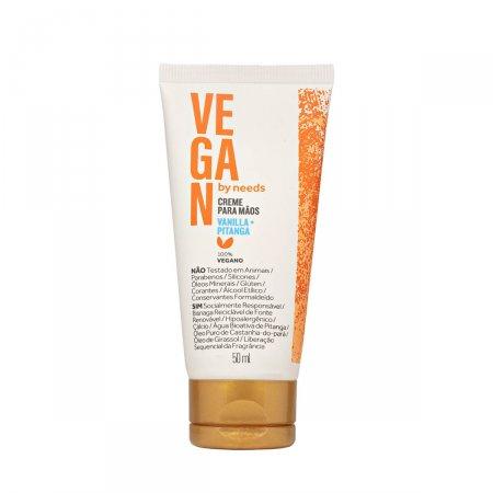 Creme Hidratante para Mãos Vegan by Needs Vanilla e Pitanga 50ml  