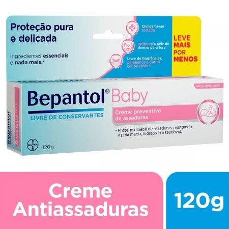 Creme Preventivo de Assaduras Bepantol Baby com 120g