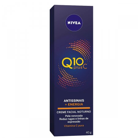 Creme Facial Antissinais Noite Nivea Q10 Plus C