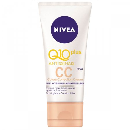 CC Cream Nivea Q10 Plus Antissinais FPS15