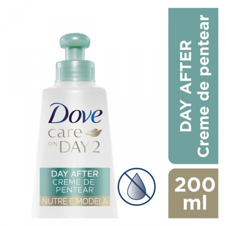 Creme de Pentear Nutre e Modela Dove On Day 2
