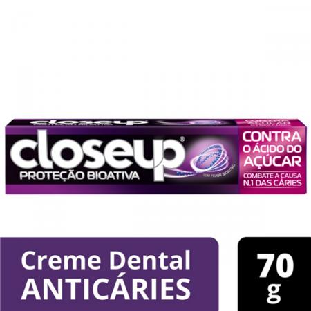 Creme Dental Closeup Proteção Bioativa Contra o Ácido do Açúcar