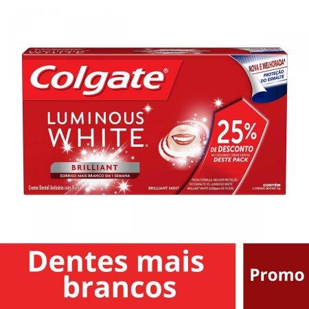 Creme Dental Colgate Luminous White Beautiful