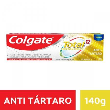 Creme Dental Colgate Total 12 Anti Tártaro