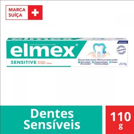 Pasta de Dente Elmex Sensitive com 110g