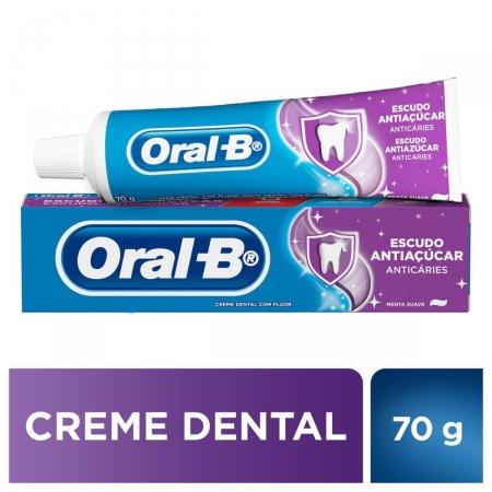 Creme Dental Oral-B Escudo Antiaçúcar