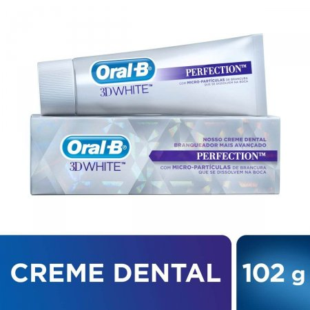Pasta de Dente Oral-B 3D White Perfection com 102g