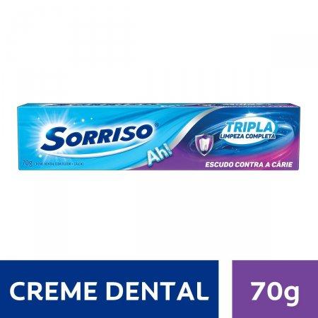 Creme Dental Sorriso Tripla Limpeza Completa