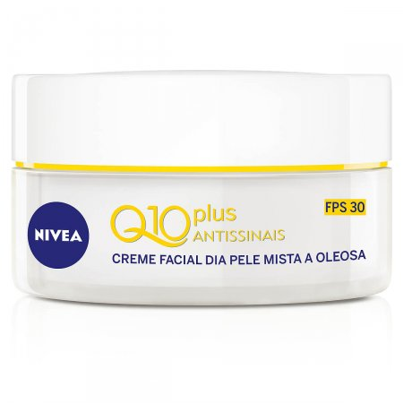 Creme Facial Dia Nivea Q10 Plus Antissinais