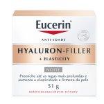 Creme Facial Eucerin Hyaluron-Filler + Elasticity Noite 50g