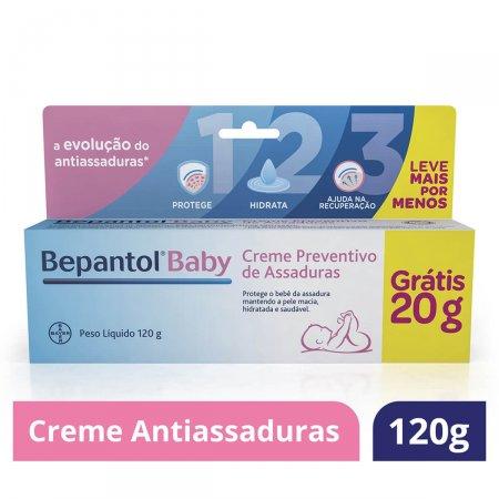 Creme Prevenção de Assaduras Bepantol Baby